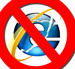 Stop Using Internet Explorer, Right Now!